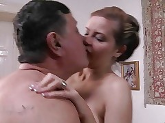 Old and Young free xxx - titty fucking